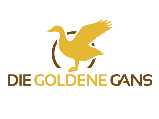 Logodesign - Die Golden Gans